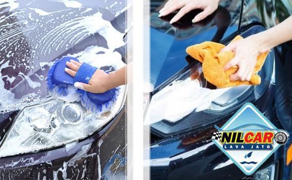CARRO NOVO DE NOVO!!! PROTEJA A PINTURA POR 6 MESES!  Lavagem Completa (Externa, Limpeza Interna, Painel, Partes Plásticas e Rodas) + Cristalização