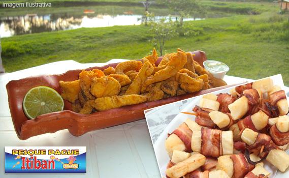 DE DAR ÁGUA NA BOCA!!! Deliciosa Porção de Filé de Tilápia (500g) + Porção de Medalhão de Mandioca (400g) + Molho Verde por apenas R$ 20,40