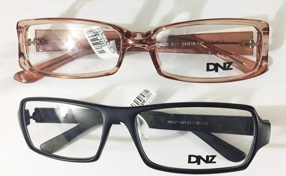 9a15ab52d ÓCULOS COMPLETO PELO PREÇO DAS LENTES!!! Óculos de Grau Completo: 01  Armação da Linha DNZ + Lentes Antirreflexo nas ÓTICAS DINIZ