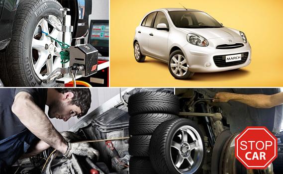 ESTÁ PENSANDO EM VIAJAR??? Faça o Alinhamento, Balanceamento, Check-up da suspensão e dos freios por apenas R$ 19,99!!!