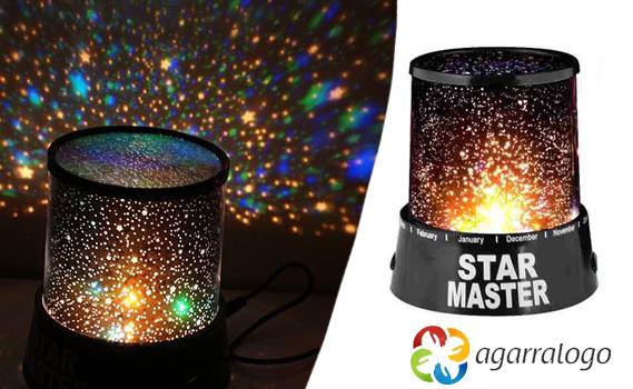 Ilumine seus Sonhos!!! Luminária Abajur Projetor De Estrelas - Star Master!
