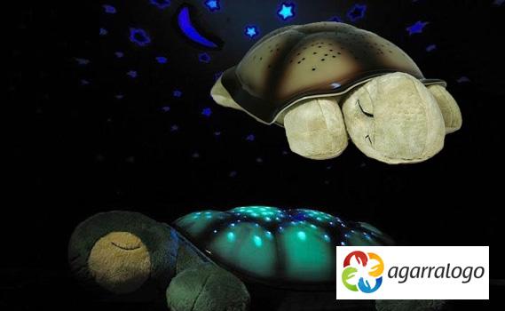 Faça a alegria da Criançada!!! Luminária Musical da Tartaruga - Com Projetor de Luzes!