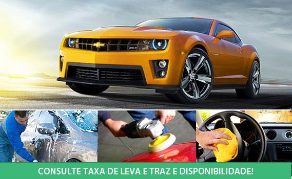 CAMPEÃ DE VENDAS DE VOLTA!! Proteja a Pintura do seu Carro por 6 Meses! Lavagem Completa (Externa, Limpeza Interna, Painel, Partes Plásticas e Rodas) + Cristalização