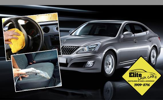 Dê o trato que o seu carro merece! Lavagem Completa + Limpeza Interna + Aspiração + Higienização de Painel e Saídas de Ar + Enceramento + Pretinho