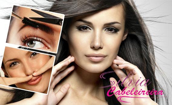 Promoção Imperdível na Silvia Cabeleireira! 01 Corte + 01 Design de Sobrancelha + 01 Depilação Buço Método Espanhol por apenas R$ 9,99. Use até Fevereiro