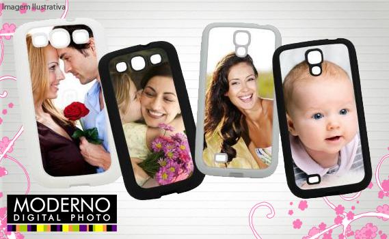 Deixe o seu celular com a sua cara. 01 Capa Personalizada com Foto. Diversos modelos, verificar disponibilidade na Moderno Digital Photo