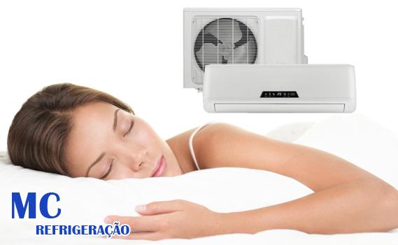 CHEGA DE PASSAR CALOR!!! DÊ ADEUS AO SOFRIMENTO! Instalação de Ar Condicionado SPLIT por apenas R$ 129,90 na MC REFRIGERAÇÃO. Divida em até 12 x de R$ 12,28