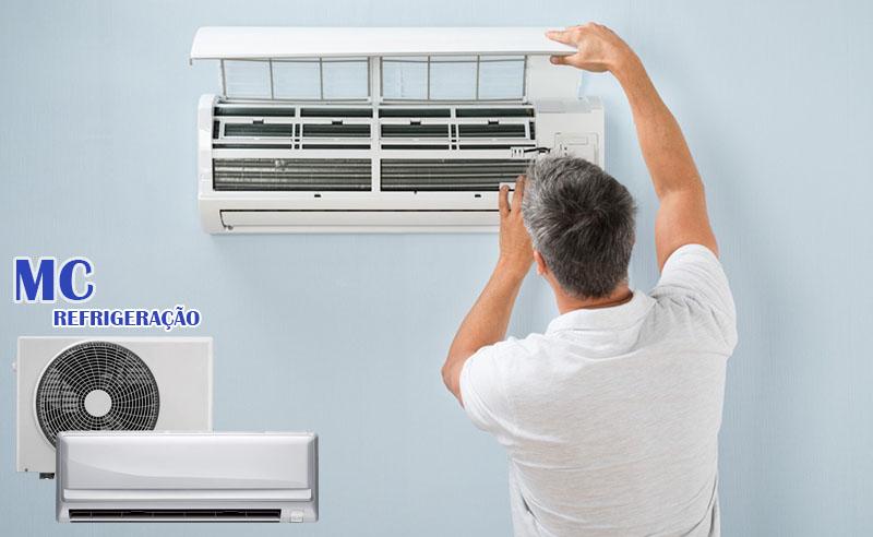 Instalação de Ar Condicionado SPLIT na MC Refrigeração