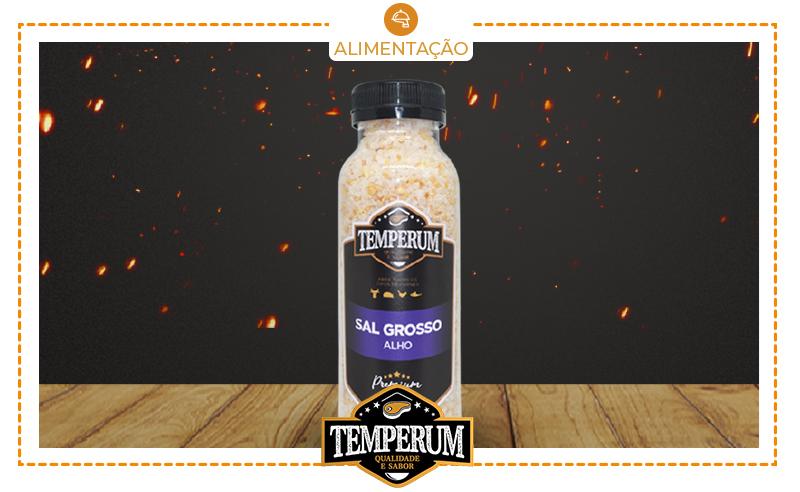 01 Pote (300g) de Sal Temperum para Churrasco