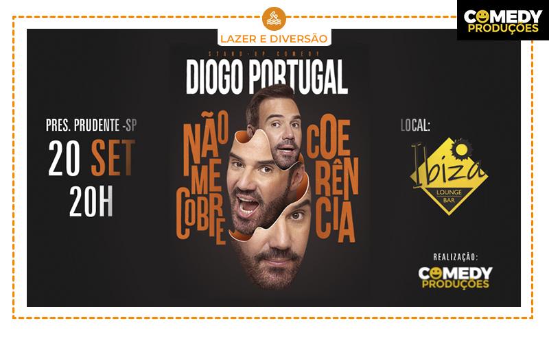1 Ingresso para o Show do Diogo Portugal