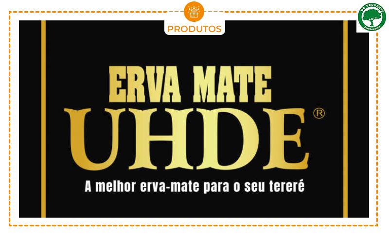 01 Erva Mate UHDE (500g). 12 SABORES PARA VOCÊ ESCOLHER!!!