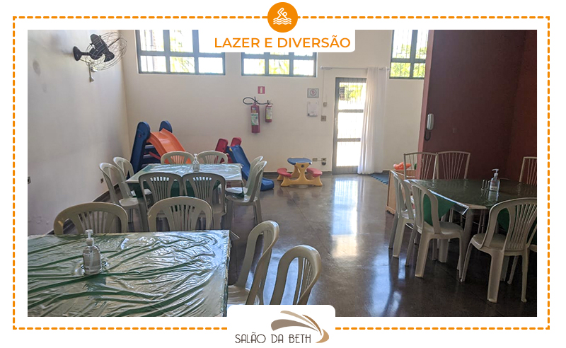 Salão de Festas Completo + Decoração