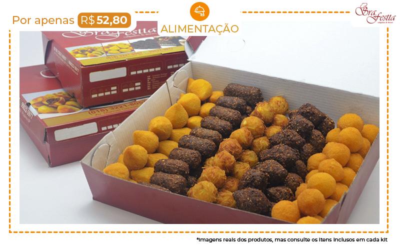 Salgadinhos Fritos da Sra. Festta por Apenas R$ 52,80