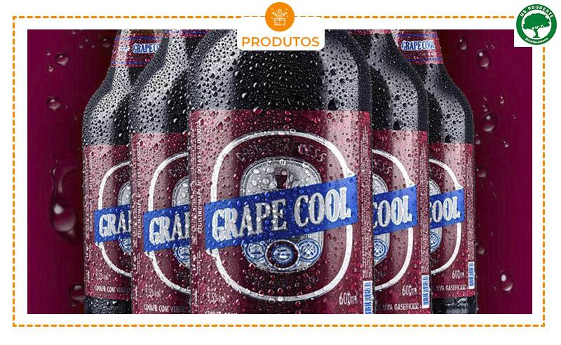 01 GARRAFA DE CHOPP DE VINHO GRAPE COOL