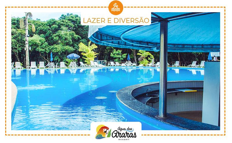 1 Diária no Hotel Água das Araras em Paraguaçu Paulista