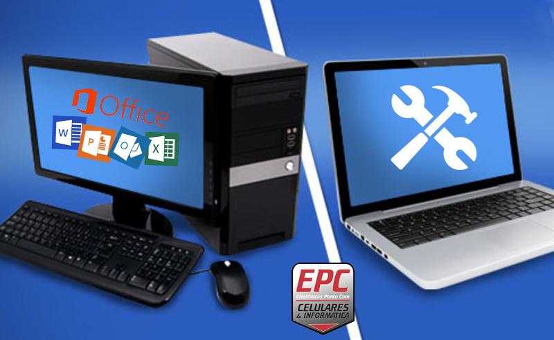 Formatação Completa de Computador ou Notebook